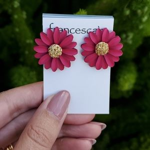 Francesca's flower earrings